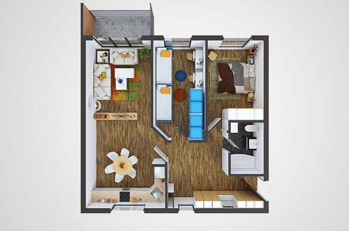 Banesa -V-L- 82.95 m²