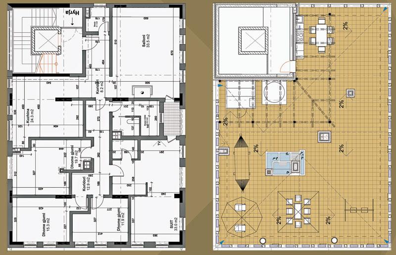 Penthouse 231 m2 + 231 m2